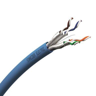 Schneider Electric VDICD62X218 Datakaapeli 6A U/FTP 4P DCA, sininen