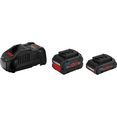 Bosch GAL 1880 CV + 4,0 & 8,0Ah ProCORE Ladepakke