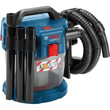 Bosch GAS 18V-10 L Pölynimuri lisävarusteiden kanssa, ilman akkua ja laturia