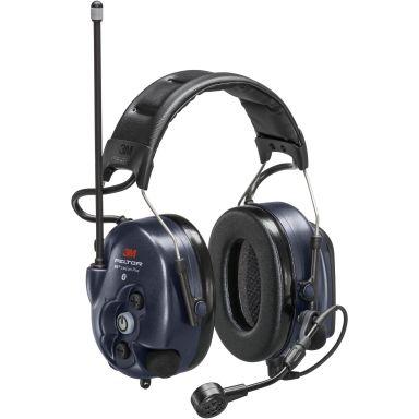 3M Peltor WS LiteCom Plus Hörselskydd hjässbygel, Bluetooth, komradio 16 kanaler