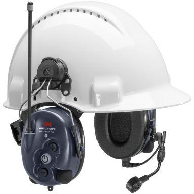 3M Peltor WS LiteCom Plus Hörselskydd hjälmfäste, Bluetooth, komradio 16 kanaler