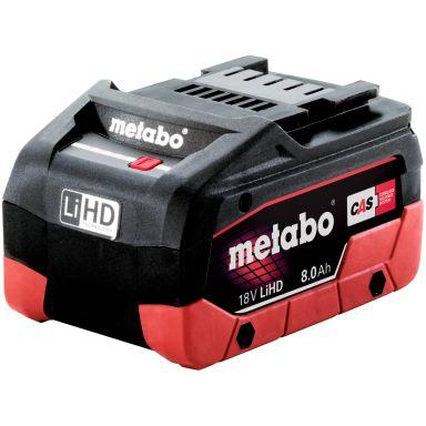 Metabo 18V LiHD Batteri 8,0Ah