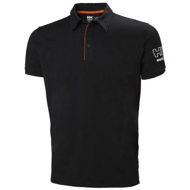 H/H Workwear Kensington Pikétröja svart