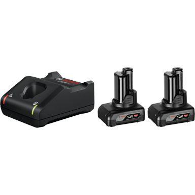 Bosch GBA 12V 6,0Ah + GAL 12V-40 Ladepakke