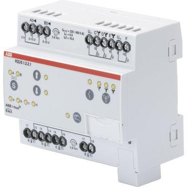ABB 2CDG110213R0011 Puhallinkonvektorisäädin 3-vaiheinen, 2 x 0–10 V:n moottoriventtiili