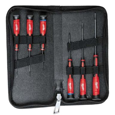 Milwaukee Precision Precisionsskruvmejselset 6-pack