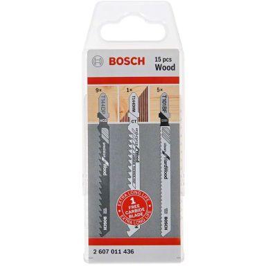 Bosch T 144 DP/T 101 BF Pistosahanterä 15 kpl:n pakkaus