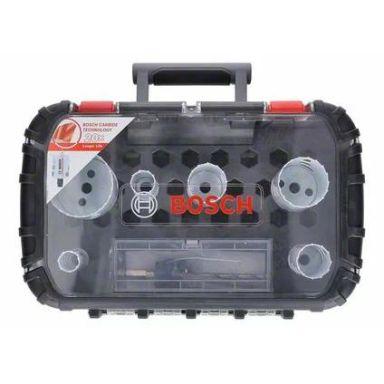 Bosch Carbide Powerchange Reikäsahasarja 8 osaa, 22-68 mm, pituus: 60 mm