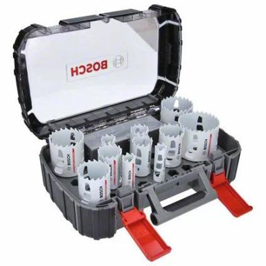 Bosch Carbide Powerchange Hålsågset 13 delar, 20-76 mm, längd: 60 mm