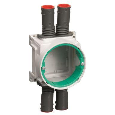 Schneider Electric IMT36192 Apparatdosa 13-26 mm, vit/grön