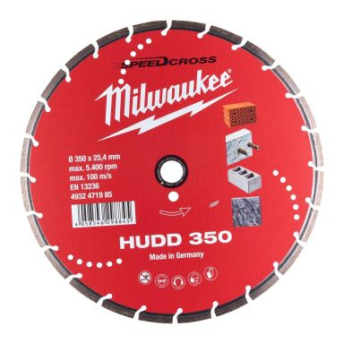 Milwaukee Speedcross Diamantskive
