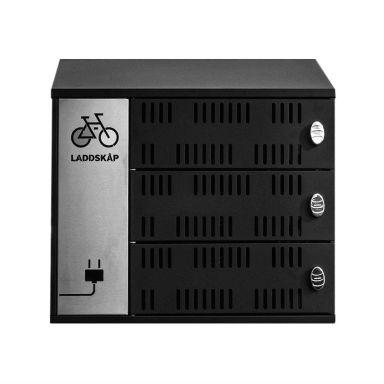 Vindico Security UNIBIKE CHARGE 3 Laddskåp för cykelbatteri
