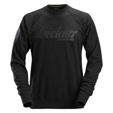 Snickers 2882 Sweatshirt svart