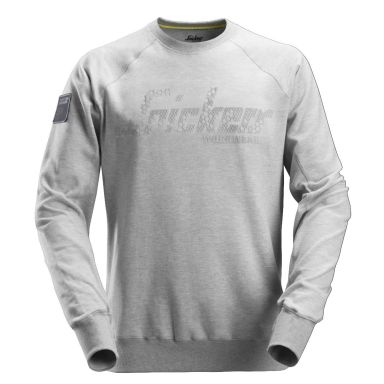 Snickers 2882 Sweatshirt gråmelerad