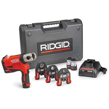 Ridgid RP 240 Pressmaskin batteri, laddare, väska + V15-22-28