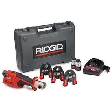 Ridgid RP 241 Pressmaskin batteri, laddare, väska + V15-22-28