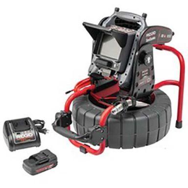 Ridgid Compact C40 Kamerasystem med CS6x VERSA, batteri och laddare