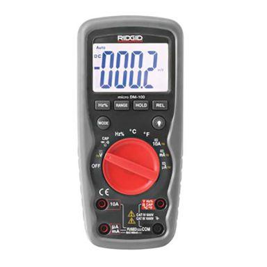 Ridgid DM-100 Multimeter med 9 V batteri