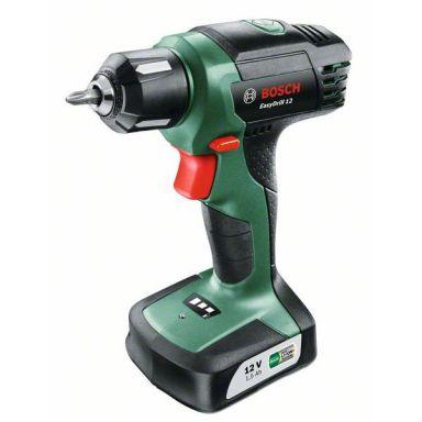 Bosch DIY Easy Drill 1200 Borrskruvdragare med 2 st 1,5Ah batterier och laddare