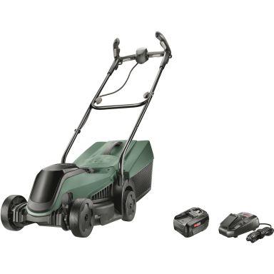 Bosch DIY Citymower 18-300 Gräsklippare med 4,0Ah batteri och laddare