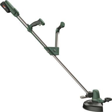 Bosch DIY Universal Grasscut 18-260 Grästrimmer med 2 st 2,0Ah batterier och laddare