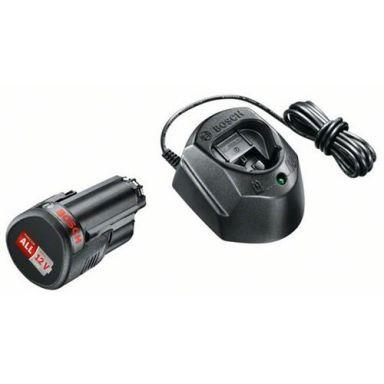 Bosch DIY GAL 1210 CV + 2x1,5Ah Laddpaket 2 st 1,5Ah batterier och laddare