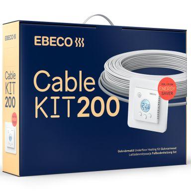 Ebeco Cable Kit 200 Golvvärmekabel 8,9 m, 100W