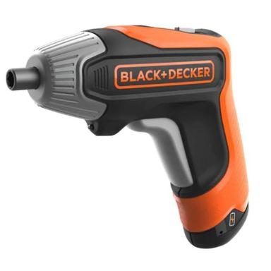 Black & Decker BCF611CK-QW Skrutrekker med lader, bits og oppbevaringskasse