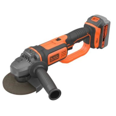 Black & Decker BCG720M1-QW Vinkelslip med batteri och laddare