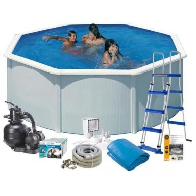 Swim & Fun 2700 Poolpaket Ø3,5 x 1,2 m, 10 102L