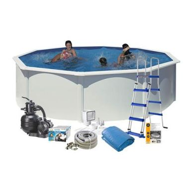 Swim & Fun 2701 Poolpaket Ø4,6 x 1,2 m, 17 450L