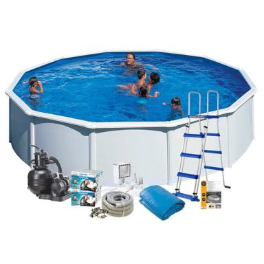 Swim & Fun 2702 Poolpaket Ø5,5 x 1,2 m, 24 944L