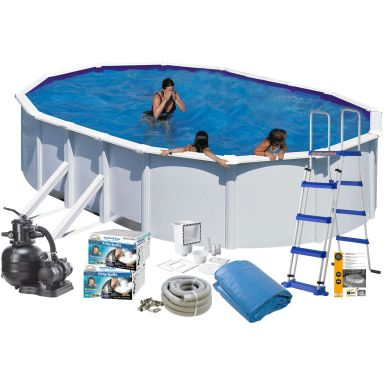 Swim & Fun 2705 Poolpaket 7,3 x 3,75 x 1,2 m, 25 323L