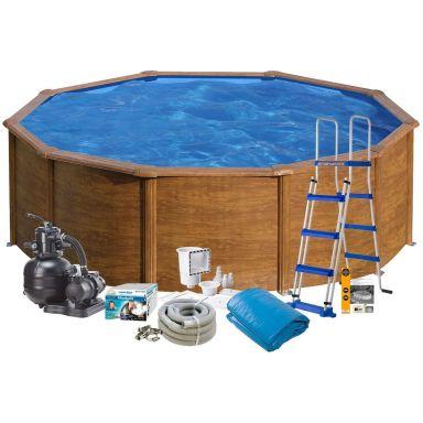Swim & Fun 2711 Poolpaket Ø4,6 x 1,2 m, 17 450L