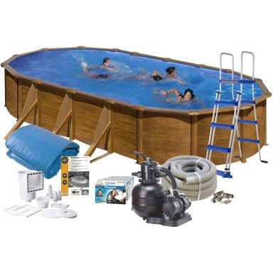 Swim & Fun 2713 Poolpaket 6,1 x 3,75 x 1,2 m, 20 893L