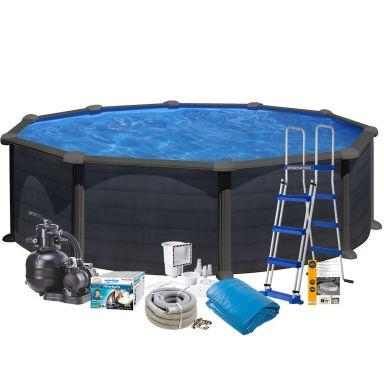 Swim & Fun 2717 Poolpaket Ø4,6 x 1,2 m, 17 450L