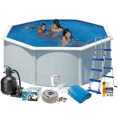 Swim & Fun 2720 Poolpaket Ø3,5 x 1,32 m, 11 250L