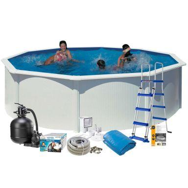 Swim & Fun 2721 Poolpaket Ø4,6 x 1,32 m, 19 444L