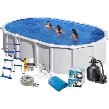 Swim & Fun 2723 Poolpaket 6,1 x 3,75 x 1,32 m, 23 281L