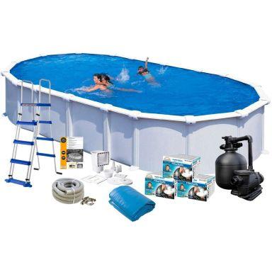 Swim & Fun 2725 Poolpaket 9,15 x 4,7 x 1,32 m, 43 595L