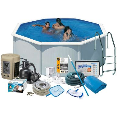 Swim & Fun 2740 Poolpaket Ø3,5 x 1,32 m, 11 250L
