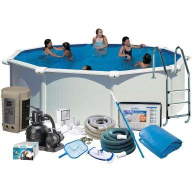 Swim & Fun 2741 Allaspaketti Ø4,6 x 1,32 m, 19 444 l