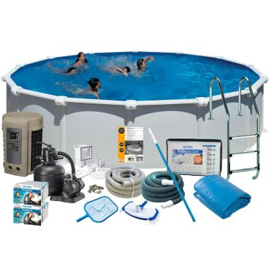 Swim & Fun 2742 Poolpaket Ø5,5 x 1,32 m, 27 798L