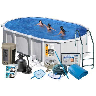 Swim & Fun 2744 Allaspaketti 7,3 x 3,75 x 1,32 m, 28 217 l