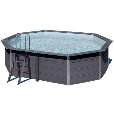Swim & Fun 2759 Kompositpool komplett, 5,24 x 3,86 x 1,24 m