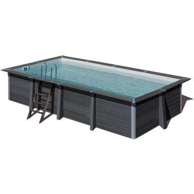 Swim & Fun 2761 Kompositpool komplett, 6,06 x 3,26 x 1,24 m