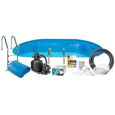 Swim & Fun 2781 Poolpaket 5 x 3 x 1,5 m, 16 015L