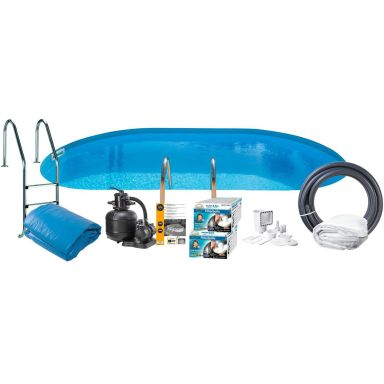 Swim & Fun 2795 Poolpaket 8 x 4 x 1,2 m, 30 000L