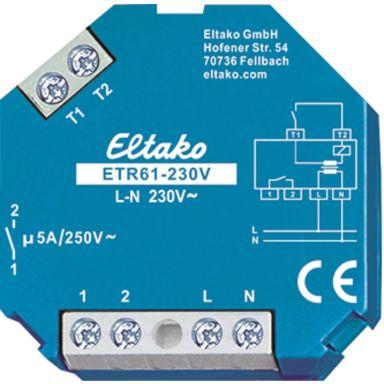 Eltako ETR61-230V Relé 5 A, 250 V (AC), potensialfri