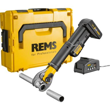 REMS Mini-Press S Pressmaskin med L-BOXX, batteri och laddare